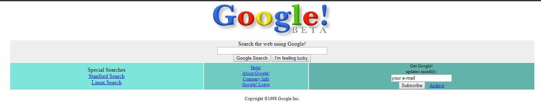 google-beta-1998-rok