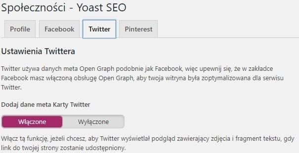 open graph implementacja dla twittera