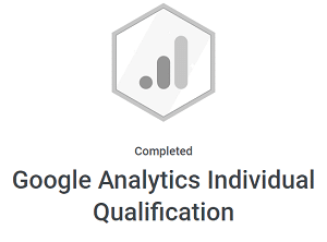 certyfikacja indywidualna google analytics