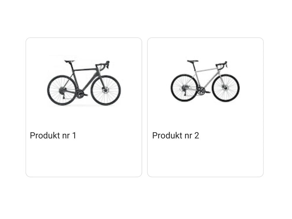 Zatwierdzone produkty w wizytówce Google